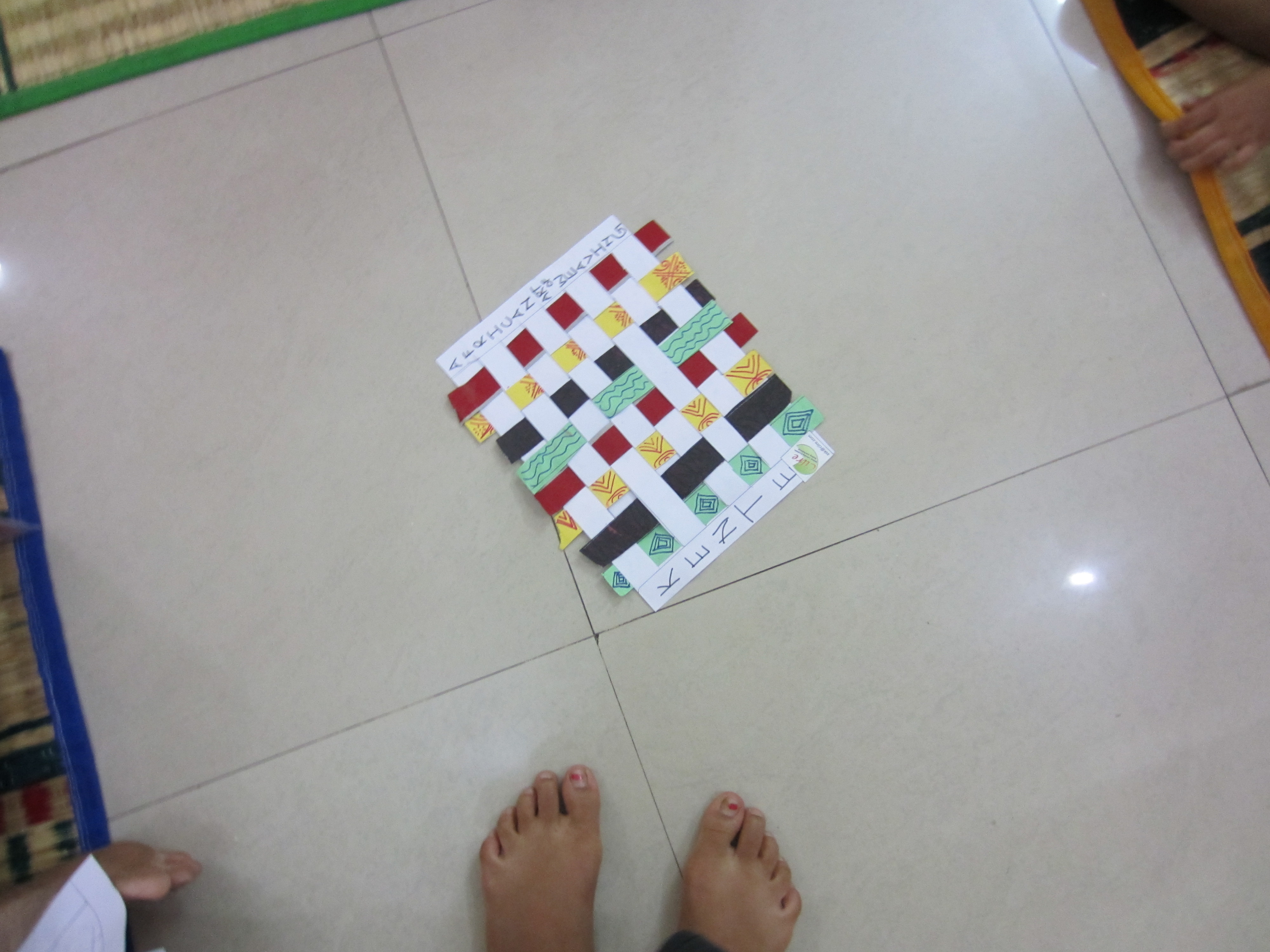 Game nail color workshop - The Children Got Exposure To Different Cultures And Games Of Different Countries From Hopscotch To Russian Dolls Carcossonne Game From Germany Was